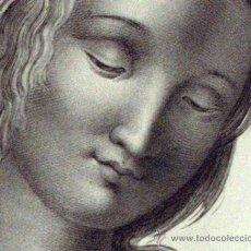 Arte: MELPOMENE ( RAPHAEL ) - GRABADO ORIGINAL 1790'S. Lote 26699518