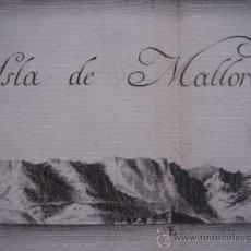 Arte: ENORME PLANO DE PERFILES COSTA ESPAÑOLA, BALEARES, CATALUÑA, P.VASCO. TOFIÑO, ORIGINAL, MADRID, 1789. Lote 26357058