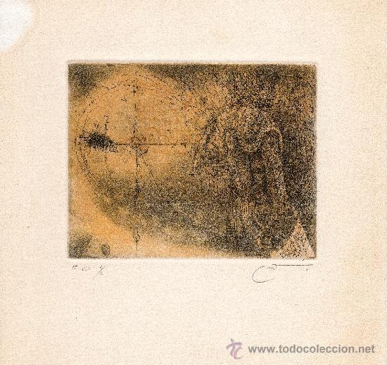 3 GRABADOS ORIGINALES DE JOAN CRUSPINERA (Arte - Grabados - Contemporáneos siglo XX)