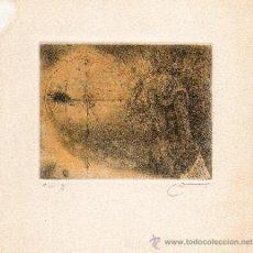 Arte: 3 GRABADOS ORIGINALES DE JOAN CRUSPINERA. Lote 26837706