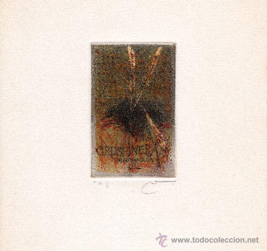 Arte: 3 GRABADOS originales DE JOAN CRUSPINERA - Foto 2 - 26837706