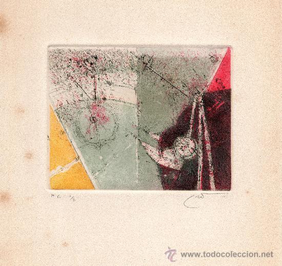 Arte: 3 GRABADOS originales DE JOAN CRUSPINERA - Foto 3 - 26837706