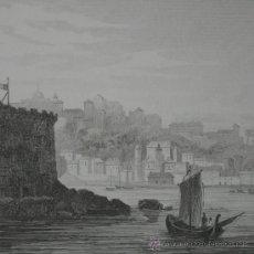 Arte: VISTA DE SALVADOR DE BAHÍA (BRASIL), 1850. Lote 25893456