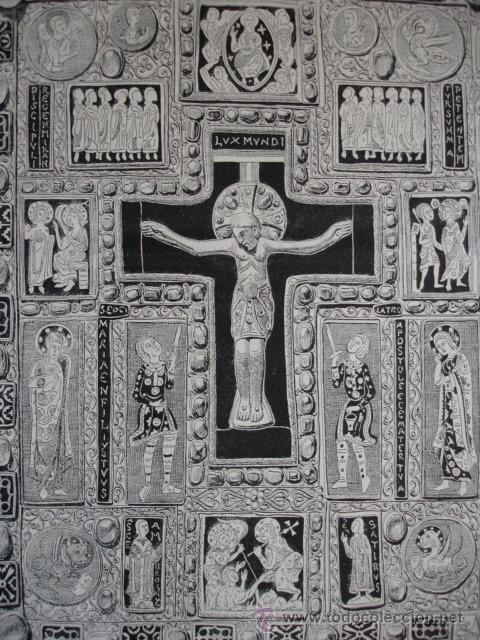 LIBRO EVANGELIOS DE ARIBERTO.MILAN (Arte - Grabados - Modernos siglo XIX)