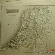 Arte: 80 HOLANDA NETHERLANDS NORTE GRABADO INGLES AÑO 1826 - MIRA MAS EN MI TIENDA. Lote 26094385