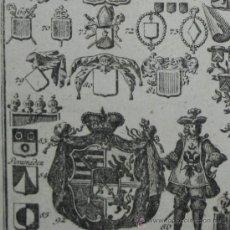 Arte: HERÁLDICA MEDIEVAL, 1741. Lote 26160691