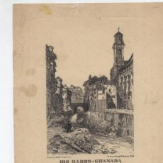 Arte: GRABADO (18,5X14,5 CM.) RÍO DARRO- GRANADA. ED. JHERR, GRABÓ PINTO. W. GAUCI. DIBUJÓ D. ROBERTS 1836. Lote 26408334