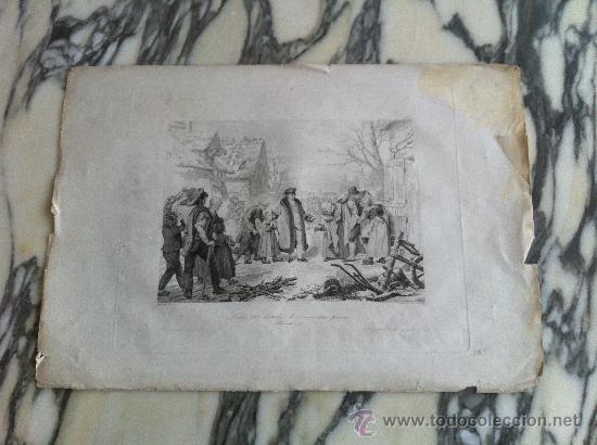 GRABADO FRANCES (Arte - Grabados - Antiguos hasta el siglo XVIII)