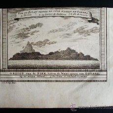 Arte: 1746-GOMERA. CANARIAS.GRABADO ORIGINAL DE J. VAN SCHLEY. Lote 26521711