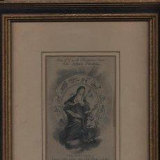 Arte: GRABADO (15X9,5 CM.) SANTA TERESA DE JESÚS. SIGLO XVIII. INTERESANTE. Lote 27648822