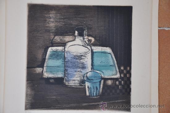 Arte: aguafuerte original firmado titulado y con justificacion de tirada - Foto 3 - 28336265