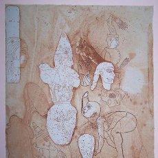 Arte: JORGE CASTILLO / GRAN CLOWN CON TRAJE DECORADO . AGUAFUERTE NUMERADO 28 /100 Y FIRMADO A LÁPIZ. Lote 27899745