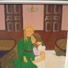 Arte: PINTURA NAÏF, POR MARÍA JOSÉ ANTÓN, 1978. Lote 28113085