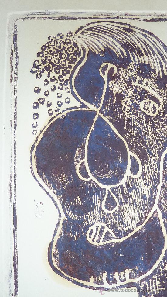 Arte: Saülo Mercader. 3 Aguafuertes originales en plancha del autor. 10/30. Valldoreix 1974. - Foto 5 - 28298161