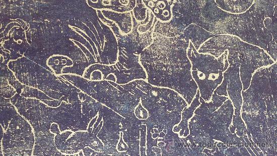 Arte: Saülo Mercader. 3 Aguafuertes originales en plancha del autor. 10/30. Valldoreix 1974. - Foto 8 - 28298161