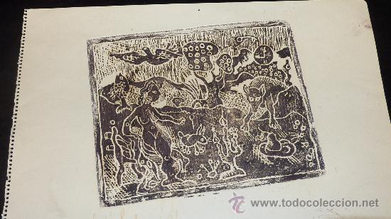 Arte: Saülo Mercader. 3 Aguafuertes originales en plancha del autor. 10/30. Valldoreix 1974. - Foto 11 - 28298161