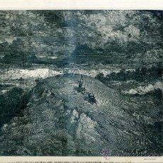 Arte: G. DORÉ - IMPRENTA RAMÍREZ (1875) DON QUIJOTE : Y GUIANDO SANCHO...31X44 CM.. Lote 28313159