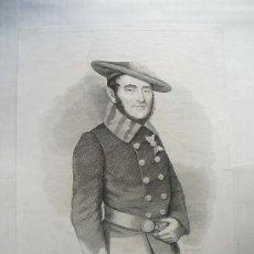 Arte: SIGLO XIX ANGEL DE SAINT SILVAIN BARON DE LOS VALLES GUERRAS CARLISTAS. Lote 28455429