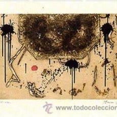 Arte: DANIEL ARGIMÓN FORMA BISTRE AGUAFUERTE ORIGINAL FECHADO 1989 FIRMADO Y NUMERADO A LÁPIZ 22 / 75. Lote 28882996