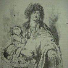 Arte: 13 LONDRES PERSONAJE CALLEJERO MENDIGO AÑO 1851 PRECIOSO GRABADO ORIGINAL DE EPOCA XILOGRAFIA. Lote 29093428