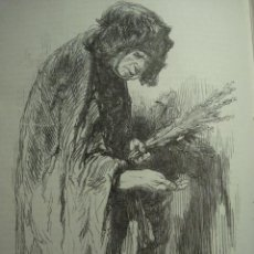 Arte: 14 LONDRES PERSONAJE CALLEJERO AÑO 1851 PRECIOSO GRABADO ORIGINAL DE EPOCA XILOGRAFIA. Lote 29093444