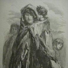 Arte: 15 LONDRES PERSONAJE CALLEJERO AÑO 1851 PRECIOSO GRABADO ORIGINAL DE EPOCA XILOGRAFIA. Lote 29093468