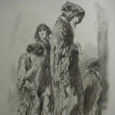 Arte: 16 LONDRES PERSONAJE CALLEJERO AÑO 1851 PRECIOSO GRABADO ORIGINAL DE EPOCA XILOGRAFIA. Lote 29093481