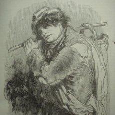 Arte: 17 LONDRES PERSONAJE CALLEJERO AÑO 1851 PRECIOSO GRABADO ORIGINAL DE EPOCA XILOGRAFIA. Lote 29093491