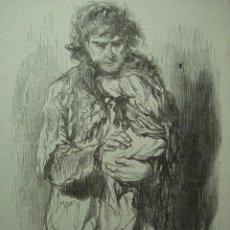 Arte: 18 LONDRES PERSONAJE CALLEJERO AÑO 1851 PRECIOSO GRABADO ORIGINAL DE EPOCA XILOGRAFIA. Lote 29093507