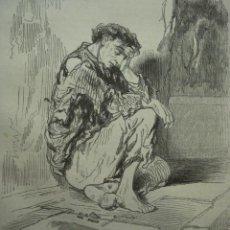 Arte: 19 LONDRES PERSONAJE CALLEJERO AÑO 1851 PRECIOSO GRABADO ORIGINAL DE EPOCA XILOGRAFIA. Lote 29093524