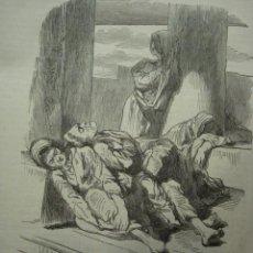 Arte: 20 LONDRES PERSONAJE CALLEJERO AÑO 1851 PRECIOSO GRABADO ORIGINAL DE EPOCA XILOGRAFIA. Lote 29093536