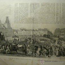 Arte: 43 CALAIS FRANCIA CARNAVAL AÑO 1874 PRECIOSO GRABADO ORIGINAL DE EPOCA XILOGRAFIA. Lote 29094410