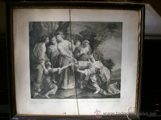 GRABADO PABLO VERONÉS (Arte - Grabados - Contemporáneos siglo XX)