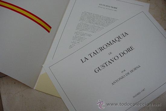 Arte: Gustavo Dore La Tauromaquia Edicion 1987 Antonio Horna - Foto 5 - 182515143