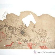 Arte: JORGE CASTILLO / PÁJAROS-12. GRABADO ORIGINAL FECHADO, NUMERADO 21 / 75 Y FIRMADO A LÁPIZ. Lote 29706576