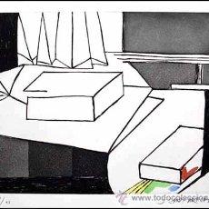 Arte: GARDY ARTIGAS / GRABADO COLOREADO A MANO FIRMADO NUMERADO FIRMADO A LÁPIZ EDICIÓN 75 EJEMPLARES RARO. Lote 29707309