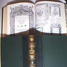 Arte: EL GRABADO DEL LIBRO ESPAÑOL / SIGLOS XV, XVI Y XVII. . BLANCA GARCÍA VEGA. DOS VOLÚMENES, 1984. Lote 29747807