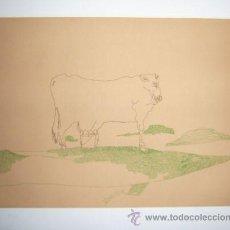Arte: JORGE CASTILLO / PÁJAROS-1 GRABADO ORIGINAL FECHADO, NUMERADO 20 / 75 Y FIRMADO A LÁPIZ PAPEL ARCHES. Lote 29818782