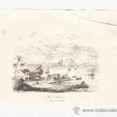 Arte: GRABADO. 1852. 16X11 CM. Nº 2. VILLA DE CAXOEIRA. . Lote 29856775