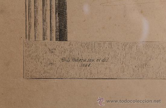 Arte: MALAGA VERDUGO LANDI GRABADO SIGLO XIX DEL PREMIO DE LA EXPOSICION GENERAL DE BELLAS ARTES ENMARCADO - Foto 5 - 222645581