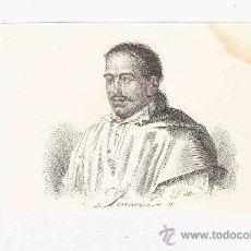 Arte: GRABADO. 1852. 16X11 CM. Nº 2. POMARES II. . Lote 29858478
