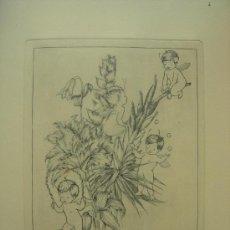 Arte: GRABADO ORIGINAL - E. ELIAS - MEDIDA LAMINA 50X36CM DIBUJO CENTRAL O MANCHA 25X19CM. Lote 29960864