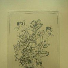 Arte: GRABADO ORIGINAL - E. ELIAS - MEDIDA LAMINA 50X36CM DIBUJO CENTRAL O MANCHA 25X19CM. Lote 29960930