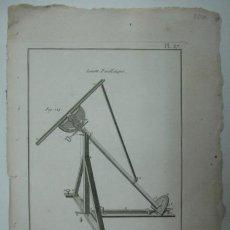 Arte: ASTRONOMIA. (ENCYCLOPEDIE METHODIQUE). 32 X 23 CM. . Lote 30049180