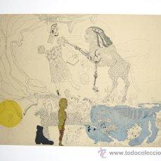 Arte: JORGE CASTILLO / PÁJAROS-13 GRABADO ORIGINAL FECHAD NUMERADO 21/75 FIRMADO A LÁPIZ REF. MAGNUS PRESS. Lote 30076240