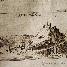 Arte: 1713-CIUDADELA REAL.MURCIA.GRABADO ORIGINAL. Lote 30225817