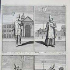 Arte: GRABADO REPRESENTANDO A CONDENADOS POR LA INQUISICION - B. PICART 1722. Lote 30270591