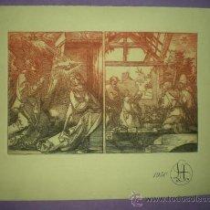 Arte: DOS GRABADOS DE ALBERTO DURERO. . Lote 30329557