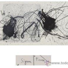 Arte: MUMA METAPHORISME-4 GRABADO CON ADITIVOS EN RELIEVE NUMERADO FECHADO Y FIRMADO A LÁPIZ BARCELONA 195. Lote 30556943