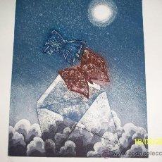 Arte: GRABADO DE GIANCARLO POZZI. Lote 30566927